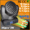 Discoteca Beam Moving Head Light (SF-111A) del LED Stage 36PCS