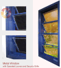 강철 Window, Metal Window, Operated Louvers와 Security Grille를 가진 Window