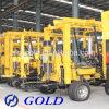 De hete Installatie van de Boring met de Compressor van het Boorgat, en Diesel Dieselmotor