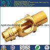 Encaixe de tubulação de bronze fazendo à máquina personalizado do CNC da alta qualidade