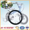 Tubo interno 14X2.125 de la bicicleta butílica de la alta calidad