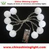 10 de LEIDENE van de LEIDENE Decoratie van de Bal Lichten van Kerstmis