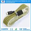 Цена по прейскуранту завода-изготовителя для супер быстрого поручая кабеля USB оплетки микро-
