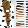 24  perruques non transformées de frontal de lacet des cheveux humains 7A du cheveu #8 130% d'onde de corps