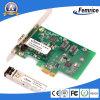 Cartões de computador de mesa Femrice 1000Mbps, placa de rede de fibra óptica Ethernet, PCI Express X1 Clientes finos Cartão LAN
