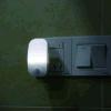 L'UE de lampe de mur de forme de souris de lumière de détecteur de DEL branchent la lumière