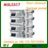Bomba Mslis17 de la jeringuilla de la infusión del canal del fabricante cuatro de China