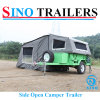 Open Side Camper Remolque