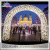 安いクリスマスの装飾のアーチのクリスマスのアーチLEDライト