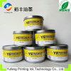 Tinta de impresora de la marca de fábrica de Alicia, tinta a granel, pigmento y capa, Pantone P012c amarillo, alta concentración