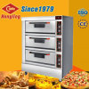 Hot Sale High Power Commercial 3 plate-forme four à pizza avec pierre