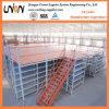 低価格の倉庫の中二階のラッキングシステム