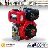 motor diesel 9HP con el eje de la cuerda de rosca (HR186F)