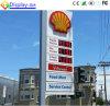 La publicité du signe des prix de la station-service DEL de Digitals à vendre