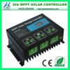 12/24V 20A MPPT Solar Charge Controller with LCD Display (QW-MT20A)
