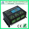LCD表示(QW-MT20A)との12/24V 20A MPPT Solar Charge Controller
