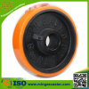 Gelber Gummireifen Hochleistungs-PU-Räder