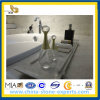 Раковина ванной комнаты мрамора нефрита Polished высокого качества белая (YQG-MC1003)