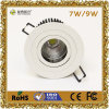 7W LED Downlight/COB avec CE&RoHS