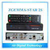 Ósmio original Zgemma-Star 2s do linux com Black Color Twin Receiver combinado