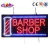 DEL Open Sign avec Moving Sign Barbershop Open Sign