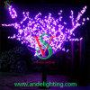 Luz roxa da árvore da flor de cereja do diodo emissor de luz da cor