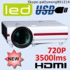 Dubbele LEIDENE HDMI Projector 20000 LEIDENE van de Levensduur van Uren Projector