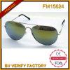 Marco completo azul de las gafas de sol de las señoras de la manera FM15624 para el partido