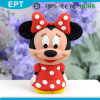 Lecteur flash USB mignon de PVC de forme de Minnie de dessin animé (TG140)