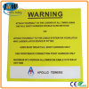 Printed Aluminium Warning Sign Board with Adherent Sponge