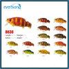 attrait de pêche d'action de flotteur de la surface 60mm/8.5g avec la diverse couleur