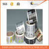 A impressão impressa Tag da etiqueta de transferência do vinil personaliza a etiqueta autoadesiva