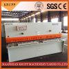 6X2500 de roestvrije Scherende Machine van de Plank/Hydraulische Scherpe Machine