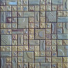 Ladrillo hecho a mano y mosaico rústico