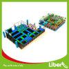 Парк спортивной площадки предложения конструкции Liben подгонянный игрой крытый с Trampoline
