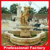 Fontaine d'eau de découpage de marbre de granit en pierre