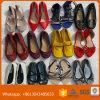 Todas as sapatas usadas idade, segunda mão calç a exportação da alta qualidade a África