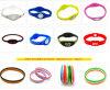 Wristbands poco costosi in serie su ordinazione all'ingrosso del silicone