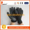 Ddsafety 2017 13 пены нитрила датчика перчаток черной Nylon законченный