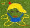 黄道帯パターンAnmialの図形人工的な草