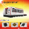 Laser Cutter de Glorystar 1000W Fiber para Thick Steel Sheet com Exchangeable Tables e Protective Cover
