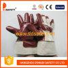 Перчатки безопасности перчаток нитрила Brown хлопка (DCN600)