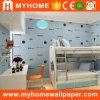 El distribuidor del papel pintado de Guangzhou embroma el papel de empapelar del dormitorio 2016