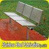 공원을%s 현대 OEM 옥외 정원 금속 시트 벤치