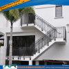 Balustrade en aluminium en acier de balcon de balustrade de rambarde de balustrade en métal