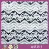 Волнистое высокое качество Lace Fabric Design для Garments