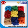 Solid Style Wholesale에서 착색된 Recycling Polyester Staple Fiber 20d*64mm