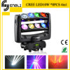 diodo emissor de luz Stage Lighting de Moving Head do CREE 10W*8piece (HL-015YT)