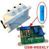 GSM Weekly Timer Controller con Rechargeable Backup Battery Alarm