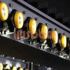 Carga de los sistemas de iluminación de la mina, estantes de carga